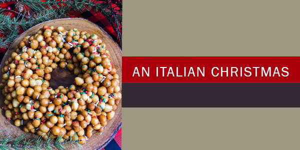 struffoli Italian Christmas