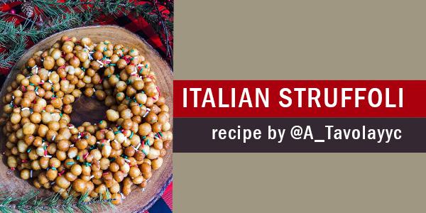 recipe for italian struffoli