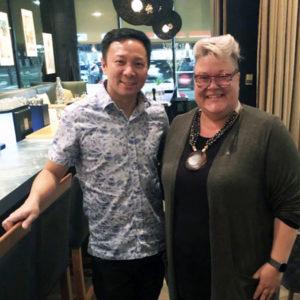 Calgary French restaurant Melo Duncan Ly Savour Calgary Editor Camie Leard