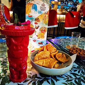 Ricardo's Hideaway Shaka Kalikimaka cocktail Savour Calgary Christmas Cocktail Roundup