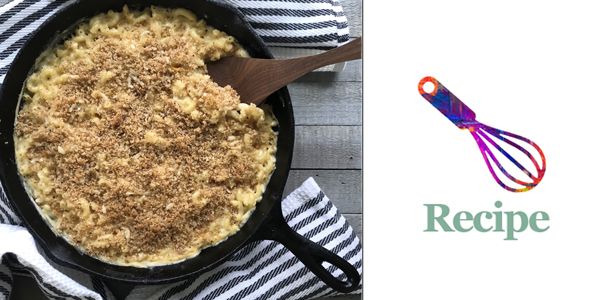 skillet mac and cheese feature