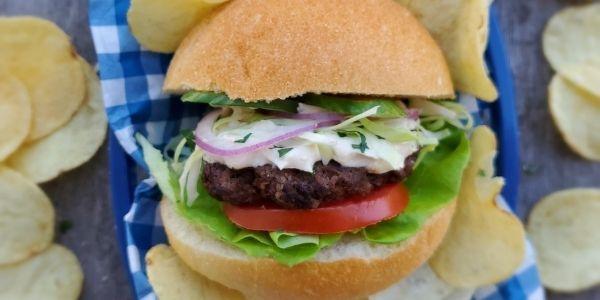 beef shawarma burger