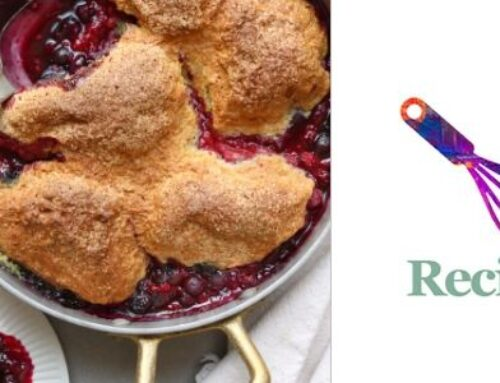 Berry Cornmeal Cobbler