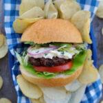 Shawarma Beef Burger