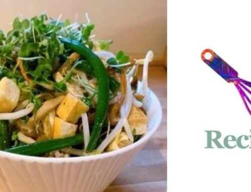 Tofu and Green Bean Mushroom Bowl