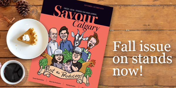 Fall issue on stands now