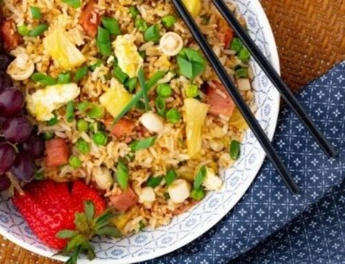 Spam and Pineapple Fried Rice
